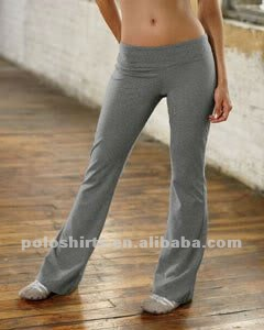Womens Cotton Spandex Fitness Yoga Pant
