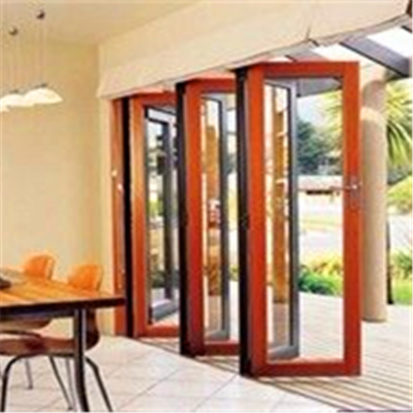 Accordion aluminum glass patio exterior 24 inches bifold doors folding doors buy bifold for Exterior glass accordion doors