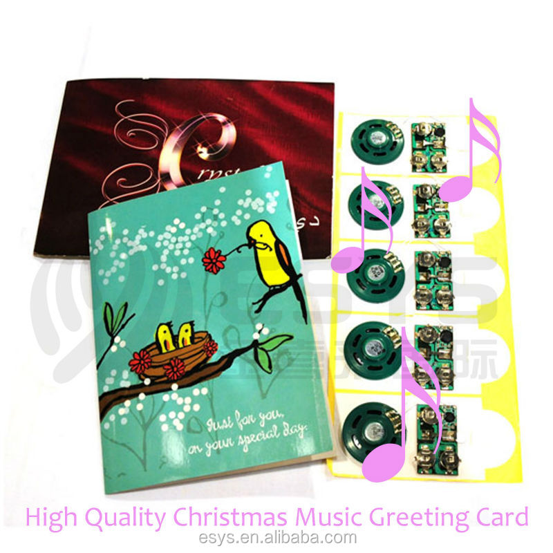 recording /voice module greeting cards