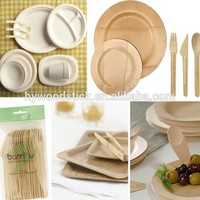 Hot Sale Eco-friendly Well-knit 100% Nature Bamboo Dishes