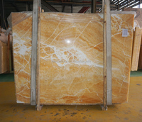 Preferential prices yellow types of marble onyx slab 06#