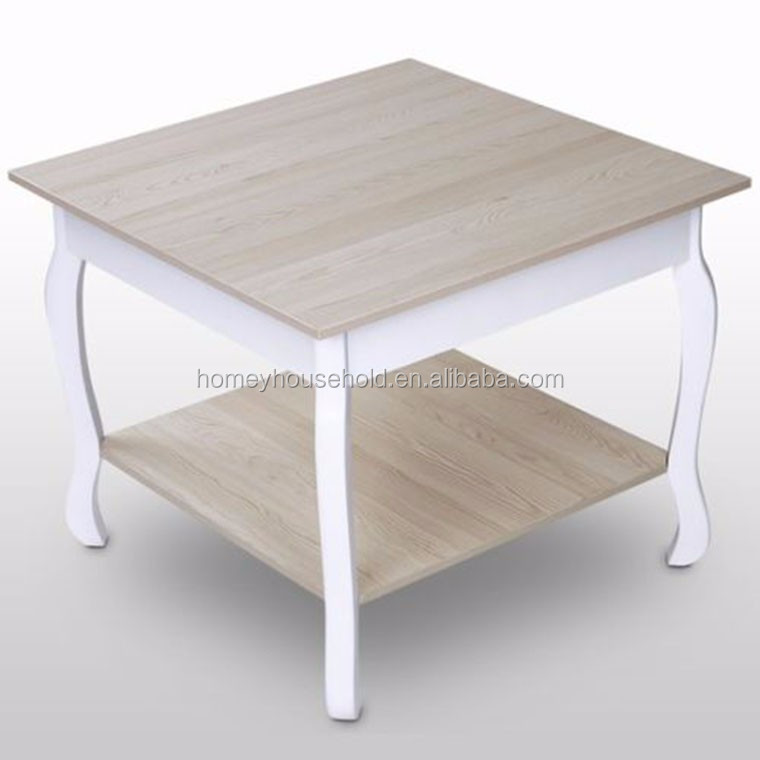 Juliette Shabby Chic Coffee Table With Distressed Wooden Top