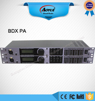 Professional PA system speaker 2 input 6 output digital audio processor BDX PA