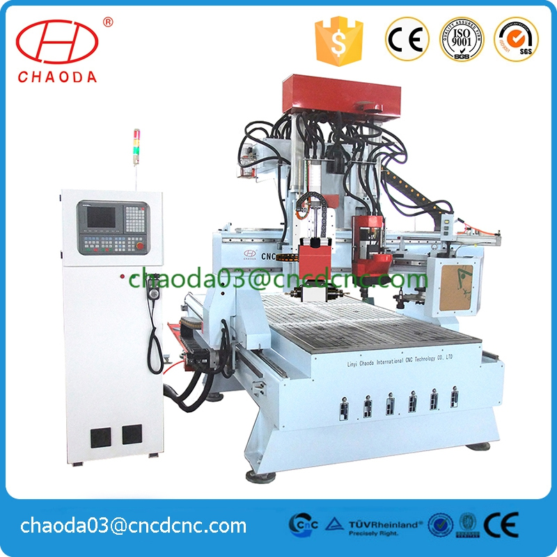 With ATC JCT1325R eps wood shape picture frame making moulding machine