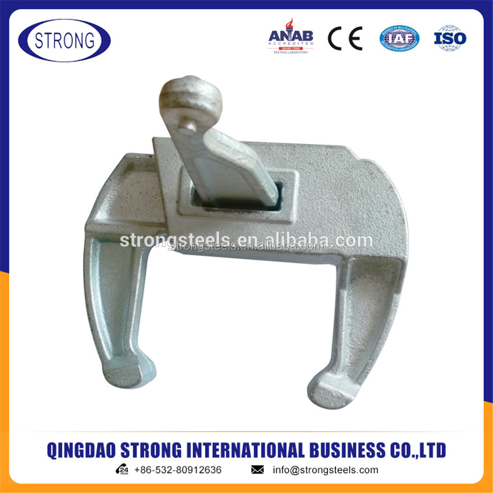 construction formwork panel clamps for telescopic poles