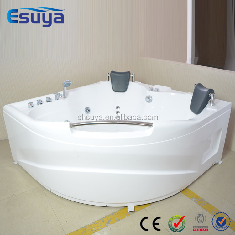 Indoor corner jets tubs best acrylic whirlpool outdoor spa for Best acrylic bathtubs