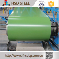 Colorful New Design color coated steel coil for roofing materials