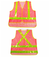 2016 best popular Reflective sport vest with safety running reflective vest
