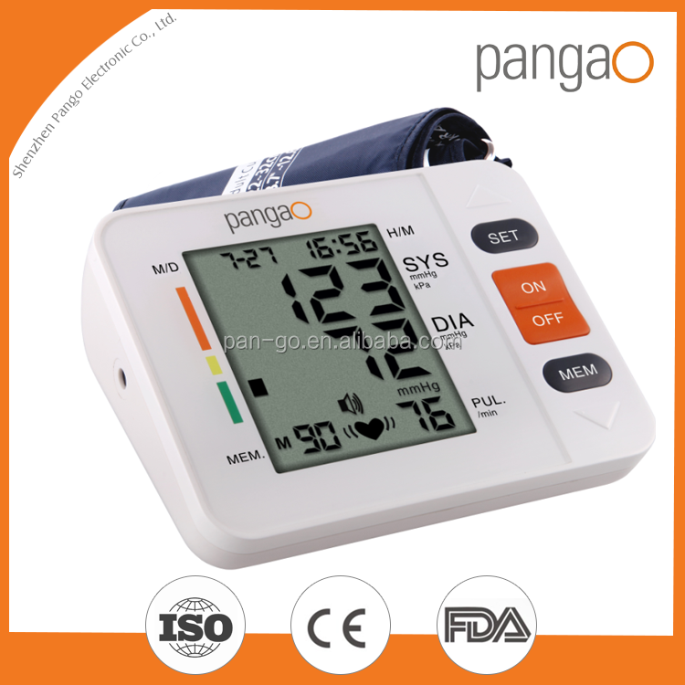 FDA approved upper Arm Electronic Blood Pressure Monitor