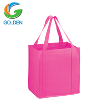 custom 6 bottles pp non woven wine tote bag/ cheap recycled custom printing grocery tote shopping pp nonwoven bag