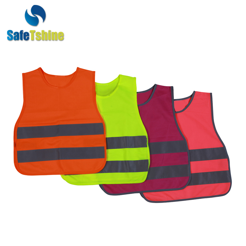 Low price high quality safety reflecting vest for kids