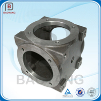 China manufacturer sand cast gearbox ductile iron casting