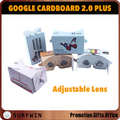 google cardboard vr glasses 2.0+ plus vr headset with custom printing