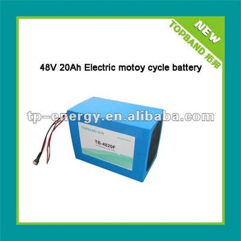 lifepo4 battery packs 48v 20ah for Electric motor TB-4820F 48V 20Ah