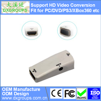 HDMI Female to VGA Converter Adapter with Audio ( HD Video Convers 3D 1080P) for Laptop Projector HDTV DVD