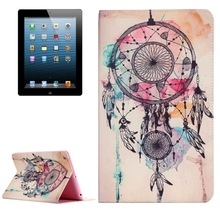 Wholesale Fantastic Painting Dream Catcher Leather Case for iPad 4
