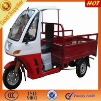 175cc motorzied tricycle cargo box on sale/ New tricycle for open cargo box with semi cabin