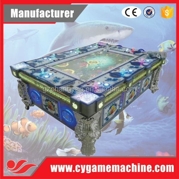 Blue Dragon Amusement Fishing Arcade Game Machine