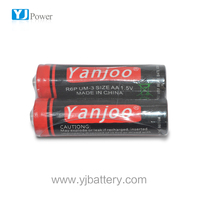 1.5v AA UM3 R6P Dry battery factory