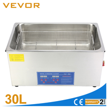 Digital Stainless Ultrasonic Cleaner Ultra Sonic Bath Cleaning Tank <strong>Timer</strong> Heater[30L]