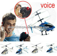 Best Selling Toys 2013 3.5CH Voice Control Helicopter with Gyro