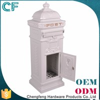 Guangdong Supplier 100% Raw Material Free Standing Letterbox In Door