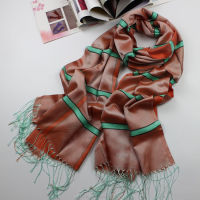 Fashion Long Scarf With Nice Stripe