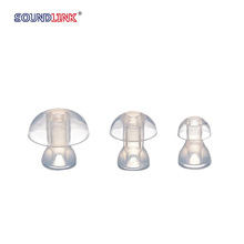Most popular silicon mushroom eartips for BTE S M L size