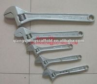 "15"" Heat treated Adjustable spanner adjustable wrench"