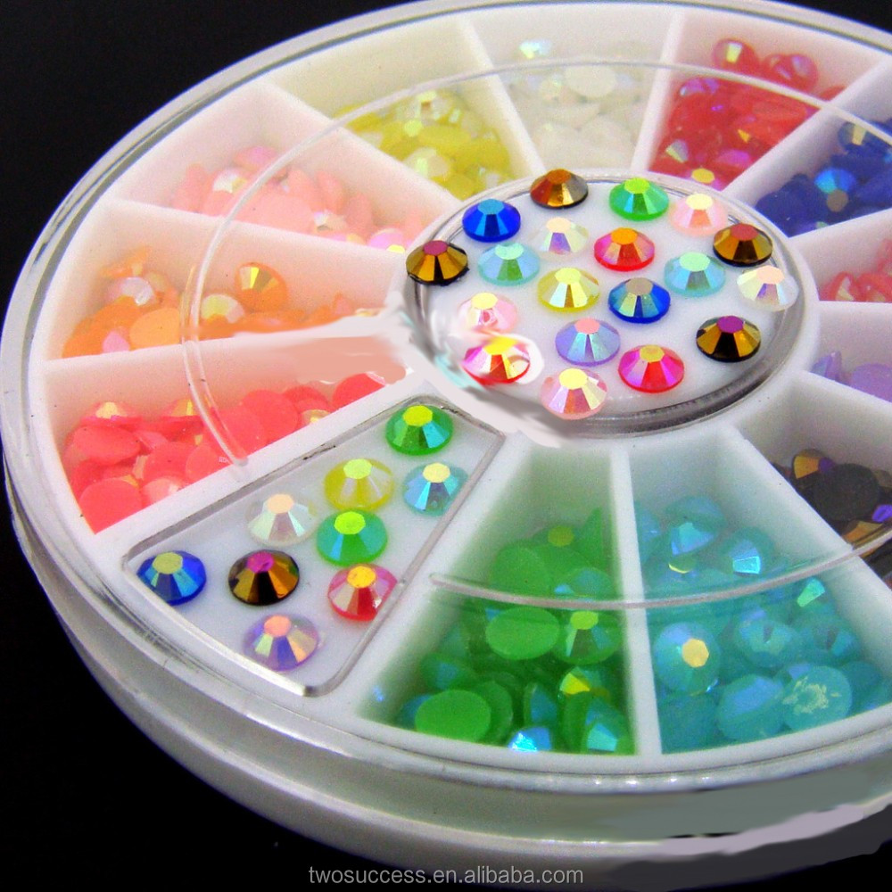 Hot popular Nail Art Rhinestone Crystal DIY Nail sticker decal Decoration