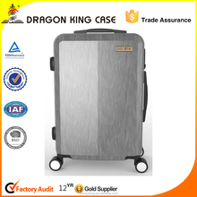 Newly designed fashion single trolley luggage/pc trolley case/travel luggage bag