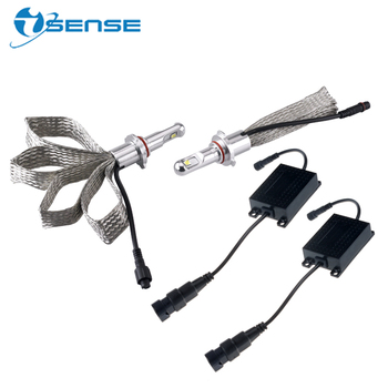 Isense LED Headlamp 9005 HB3 XHP50 chip 6000LM 6500k