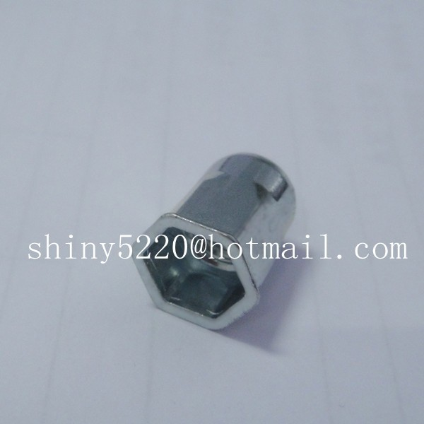 hardware rivet nut m6 carbon steel square thread inserts