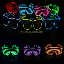 cool lighting shutter glasses led party glasses shutter sunglasses without lens