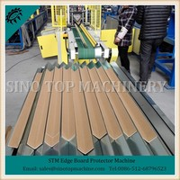 New STM Paper Corner and Flat laminating cardboard Making Machine