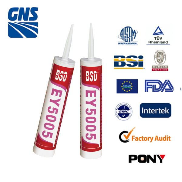Oil proof modified silicone rubber adhesive sealant