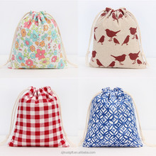ECO friendly cotton canvas drawstring bag