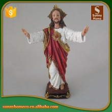 Polyresin Jesus figurine for home decoration
