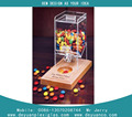 Best selling candy display rack ,candy shelf with high quality acrylic candy box