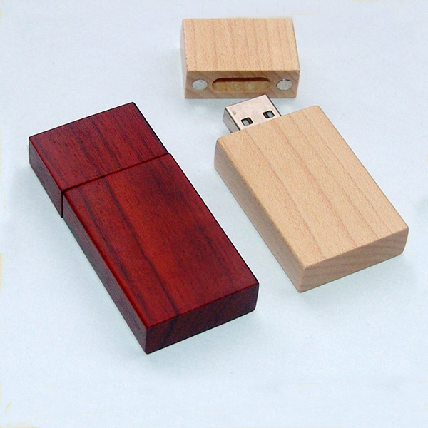 Factory OEM Free logo Wooden Flash Memory USB Memory Stick Storage Digital U Disk with gift box