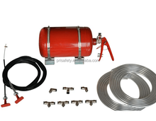 Vehicle Fire System For Racing Car