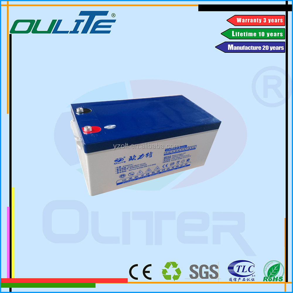 Best quality!AGM rechargeable deep cycle gel battery 12V 250AH