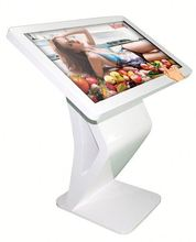 1080P TFT LCD wireless Wifi kiosk with a4 printer