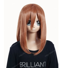 easy anime cosplay wigs brown