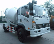 SINOTRUK CDW 5m3 Concrete Mixer Truck For Sale