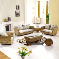 bamboo rattan abaca sofas furniture