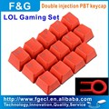 professional PBT double injection mechanical keycaps cherry for LOL Gaming