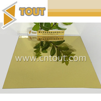 Gold color bright stainless steel sheet