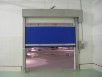 Motorized interior roll up steel doors, industrial roll up stainless steel door