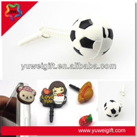 Charm Custom Mobile Phone Dustproof Plug At Cheap Price